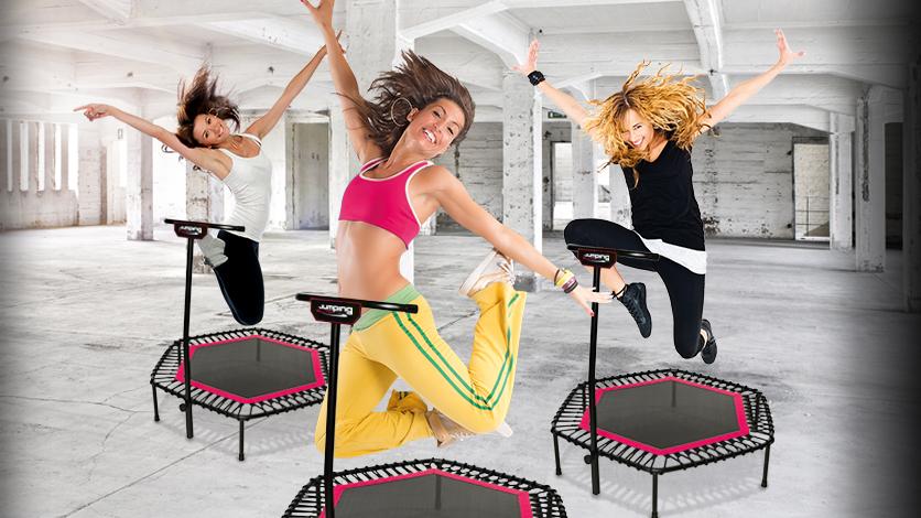 trampoline oefeningen afvallen